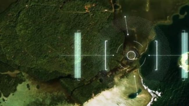 Nan Madol has 97 individual blocks separated by water. Picture: Science Channel