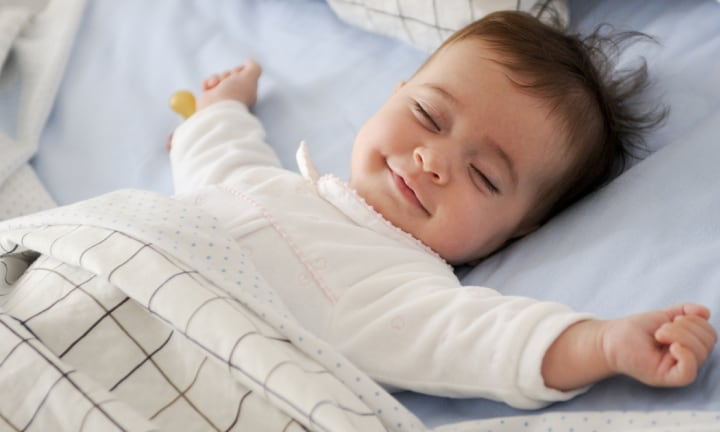 The four-month sleep regression that makes parents want to cry