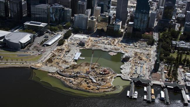 Perth's Elizabeth Quay is set to open in December.