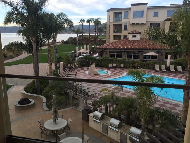 The Dolphin Bay Resort at Pismo Beach.