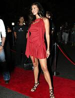 <p>Megan Gale at the2 Day FM Star Party at W. in 2004.</p>