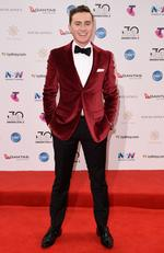 Harrison Craig arrives on the red carpet for the 30th Annual ARIA Awards 2016 at The Star on November 23, 2016 in Sydney, Australia. Picture: AAP