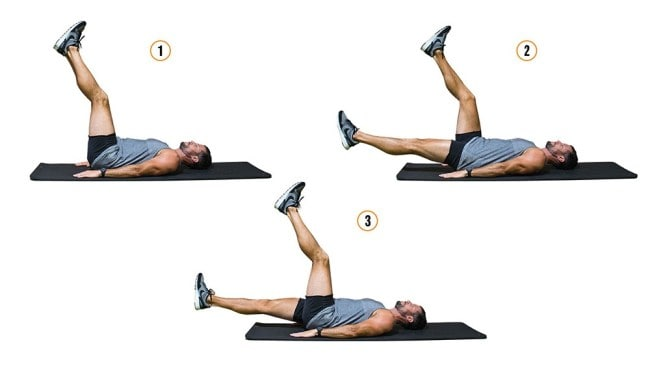 Alternating leg lowers