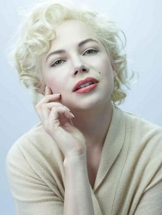 Michelle Williams as Marilyn Monroe.