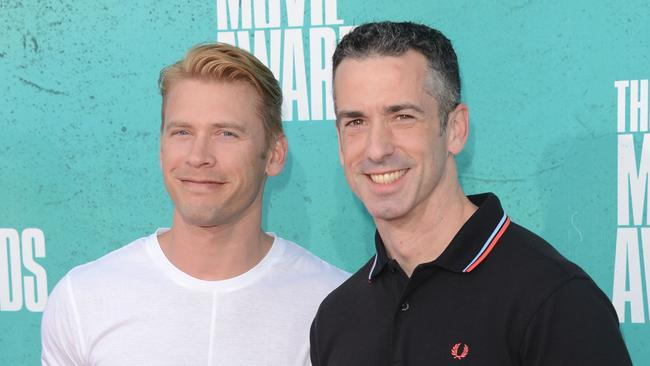 Sex columnist Dan Savage and his husband Terry Miller. Photo: Jason Merritt.