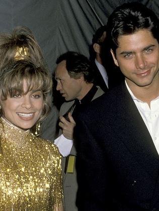 Hot couple ... John Stamos and Paula Abdul dated back in the 80s. Picture: Supplied