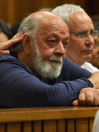 Father of Reeva, Barry Steenkamp. Picture: AFP