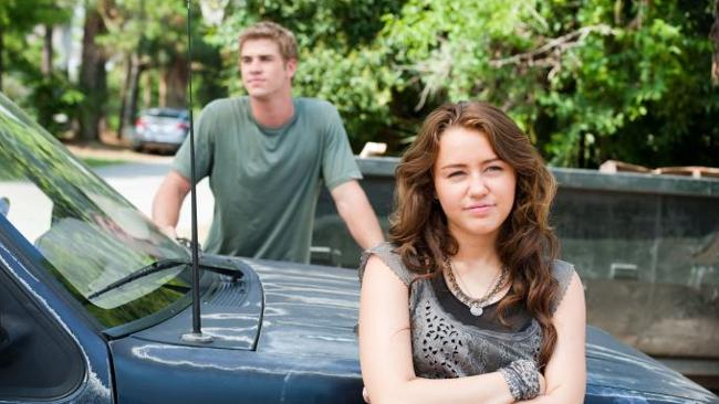 Miley Cyrus and Liam Hemsworth in 2009's The Last Song. How times have changed. Picture: Supplied