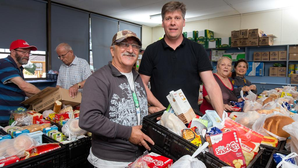 St albans food bank loaves and fishes helps those in need for Loaves and fishes food pantry