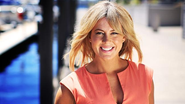 Sam Armytage took a stand against feminists who criticised her co-host David Koch. Picture: Channel Seven