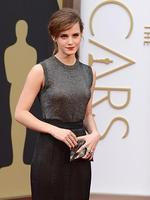 Emma Watson on the red carpet at the Oscars 2014. Picture: AFP