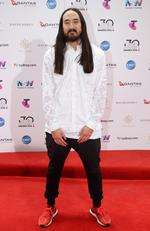 Steve Aoki arrives on the red carpet for the 30th Annual ARIA Awards 2016 at The Star on November 23, 2016 in Sydney, Australia. Picture: Jonathan Ng
