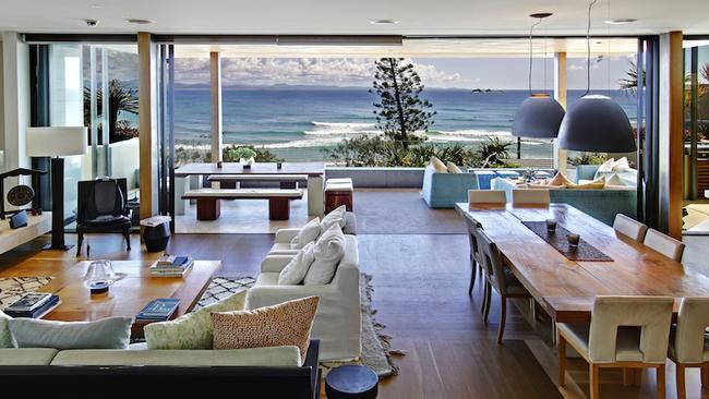 Byron Bay has some of Australia's most high end holiday rentals, with this house renting for $30,000 a week. Picture: Byron Bay Luxury Homes