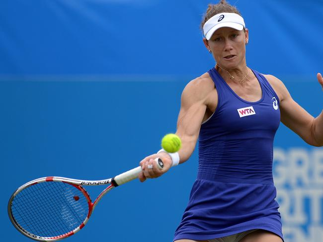 Looking ahead ... Samantha Stosur says she split with her coach after a disappointing year of results.