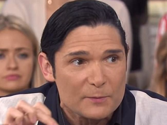 Corey Feldman says he fears for his life. Picture: Today