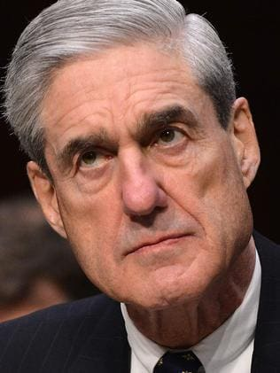 Former FBI Director Robert Mueller is the special prosecutor. Picture: AFP