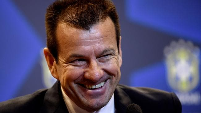Carlos Dunga is introduced as the new coach of the Brazilian national football team.