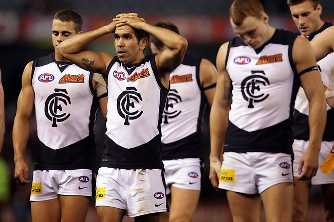 Eddie Betts after tonights loss to St Kilda at Etihad Stadium, Melbourne. May13, 2013. Picture: Klein Michael