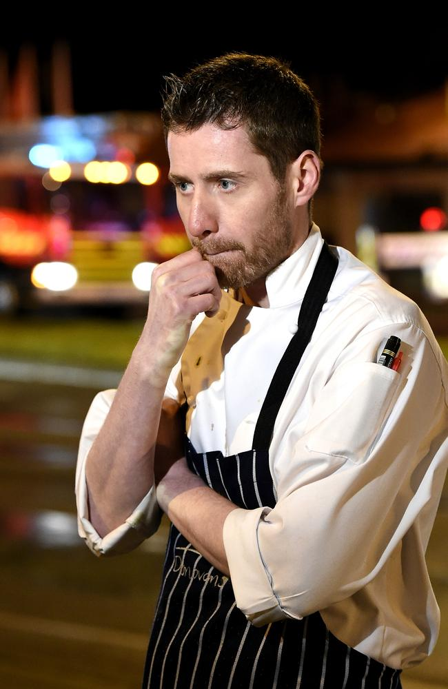 Donovans chef Andrew Craig. Picture: Andy Brownbill