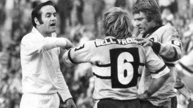 Roberts refereed 272 games, three grand finals, six Origins and four Tests.