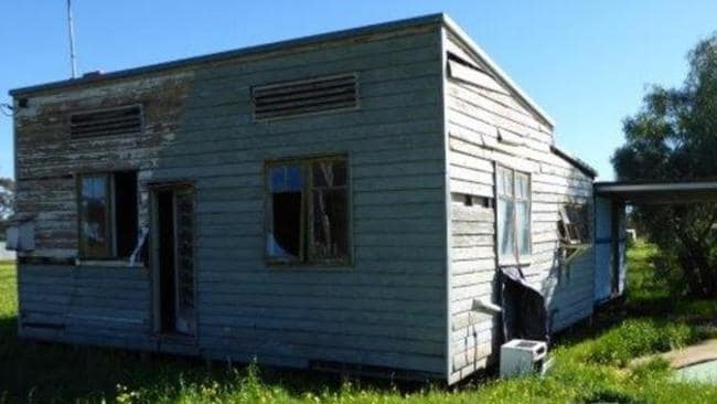 In Brim in Victoria this house is listed for $24,999. Picture: realestate.com.au