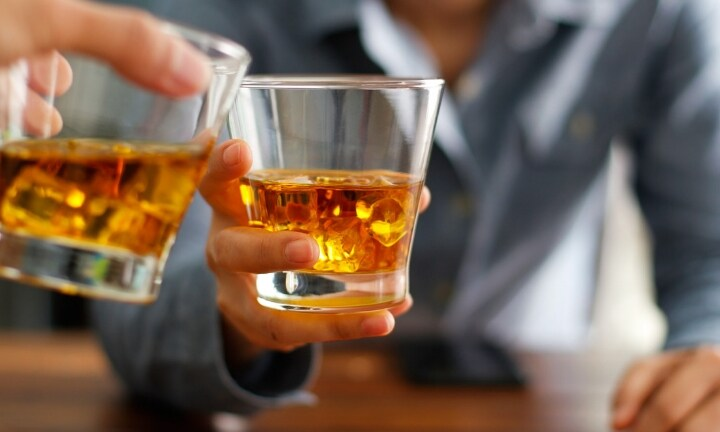The whiskey was flowing, I felt relaxed and let my guard down. Image: iStock