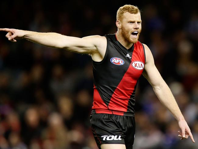 Essendon's Adam Cooney won't play due to suspension.
