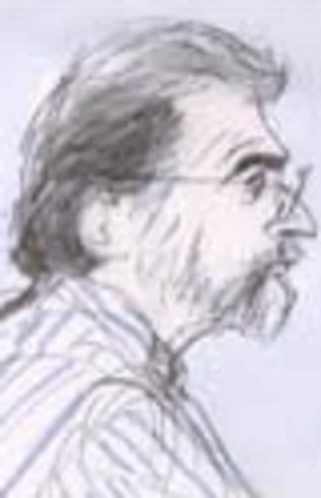 Court sketcher's artist impression of Dante Soiu, who has been locked up in a psychiatric prison for stalking Gwyneth Paltrow.