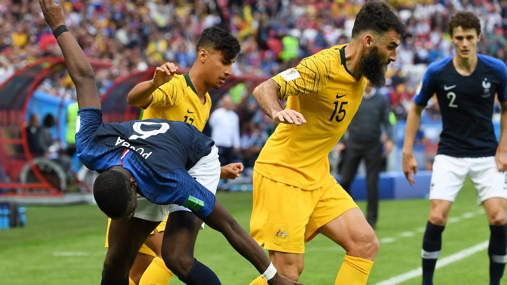 dc2ba0202 France have improved markedly sicne facing the Socceroos. Picture  AAP.