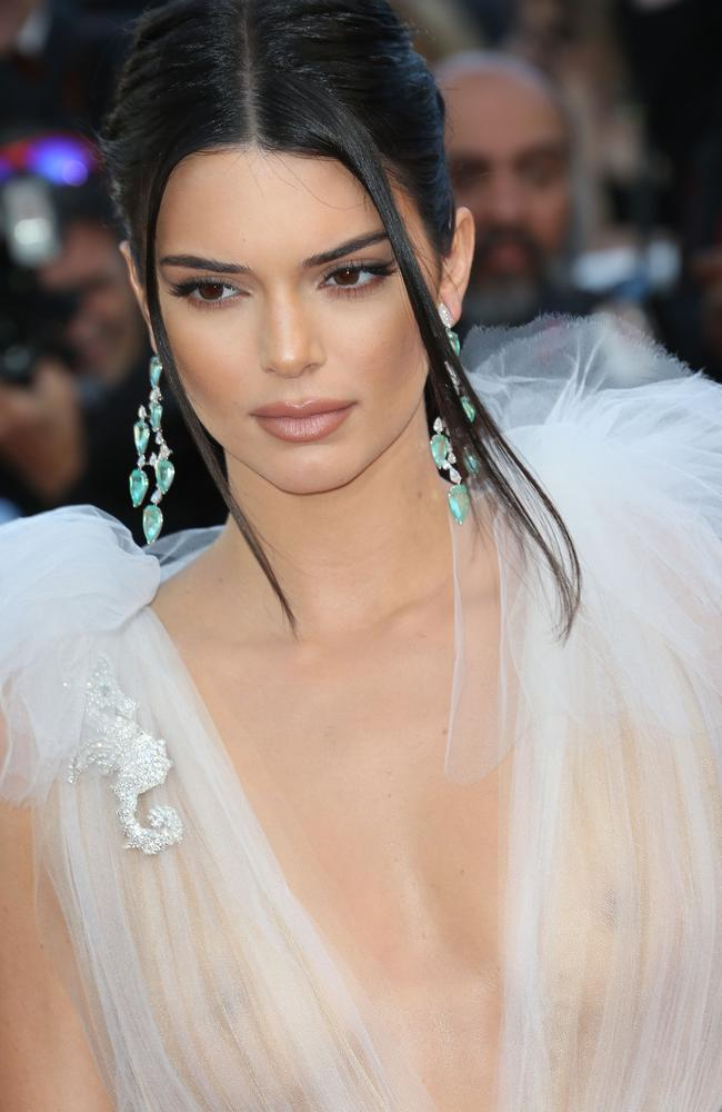 She's taken a leaf out of big sister Kim Kardashian's book. Picture: KCS Presse/MEGA