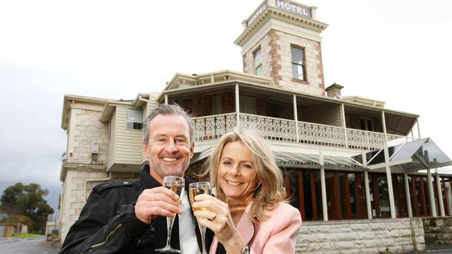 Rob and Anne Pitt have owned Hotel Sorrento since 1981.