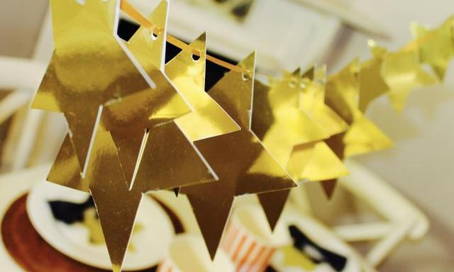 How to make a star garland