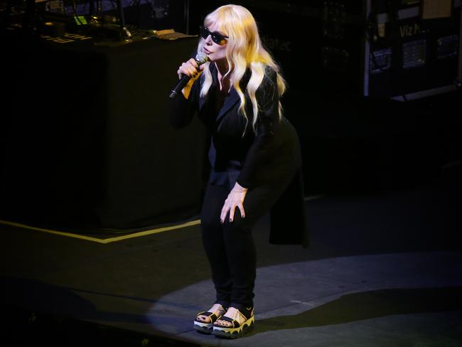 Debbie Harry was in good form. Picture: Richard Dobson