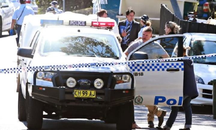 Police said a man, known to Ms Latta, was arrested nearby. Picture: Adam Yip/ Manly Daily