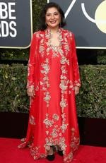 Zenobia Shroff attends The 75th Annual Golden Globe Awards at The Beverly Hilton Hotel on January 7, 2018 in Beverly Hills, California. Picture: Frederick M. Brown/Getty Images/AFP
