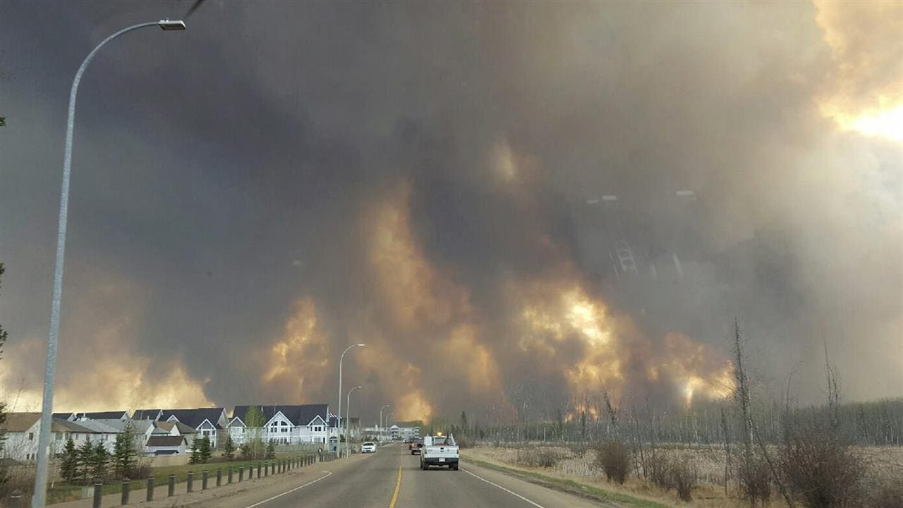 Canadian Wildfires Force Evacuation of Entire City