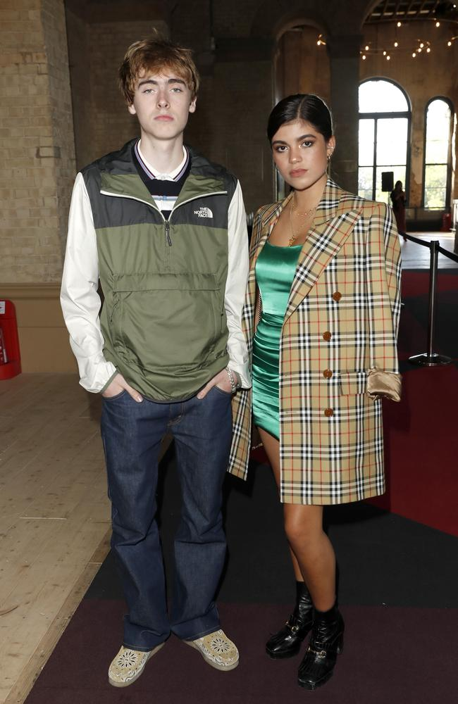 Lennon Gallagher and Molly Gallagher attend the World Premiere of Liam Gallagher: As It Was in London this month. Picture: David M. Benett/Dave Benett/WireImage