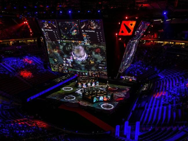 Thousands of fans packed the KeyArena in Seattle, USA to watch a major eSports event — Dota 2's The International 2015 — last August.