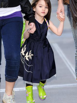 Suri quickly became a tiny style icon. Picture: Getty Images.