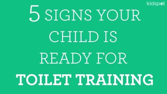 which typically comes first during toilet training