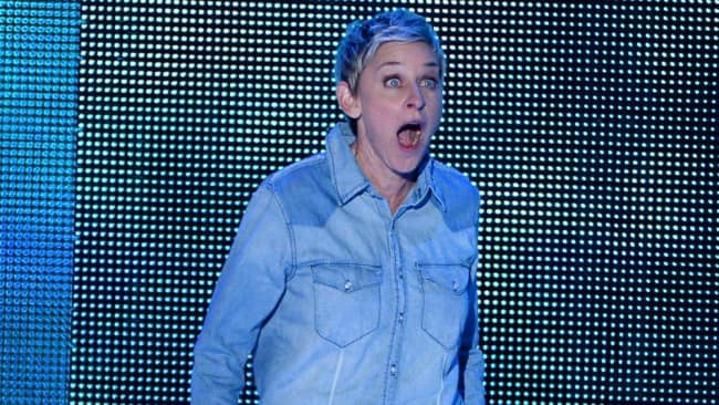 Ellen is also shocked Judy beat her. Photo: Getty