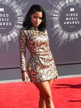 Nicki Minaj attends the 2014 MTV Video Music Awards.