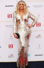 Logies Red Carpet 2018. Leila McKinnon. Picture: NIGEL HALLETT