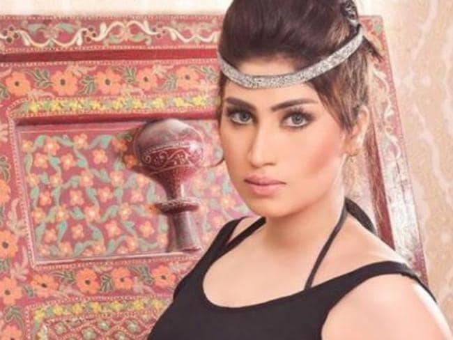 Allah Ditta's gruesome murder comes just days after the brother of Pakistani social media star Qandeel Baloch (pictured) admitted to strangling her to 'protect the family's honour'.