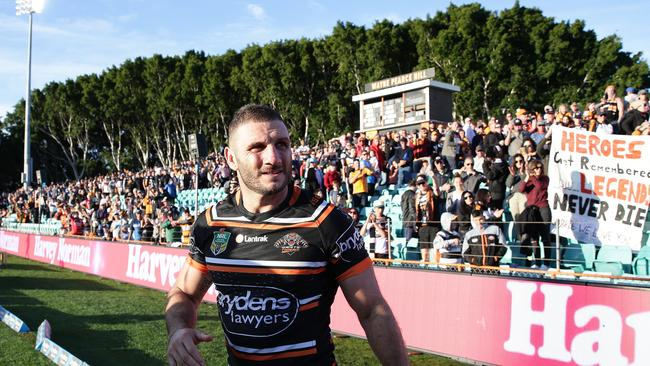 The Wests Tigers have also committed to Leichhardt Oval for the next two years. Picture: Brett Costello