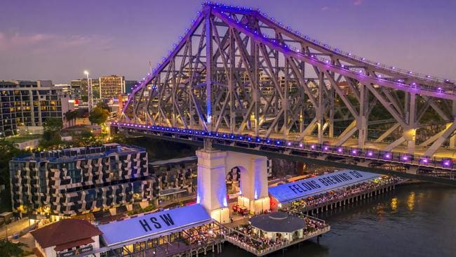 Howard Smith Wharves is attracting interstate buyers to Brisbane. Picture: Brisbane Tourism.