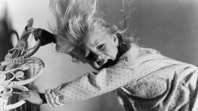 Heather O'Rourke played a child harassed by evil spirits in Poltergeist. Picture: Getty Images.