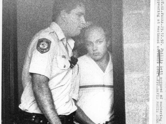 Lett had previously refused parole because he didn't feel he deserved it.