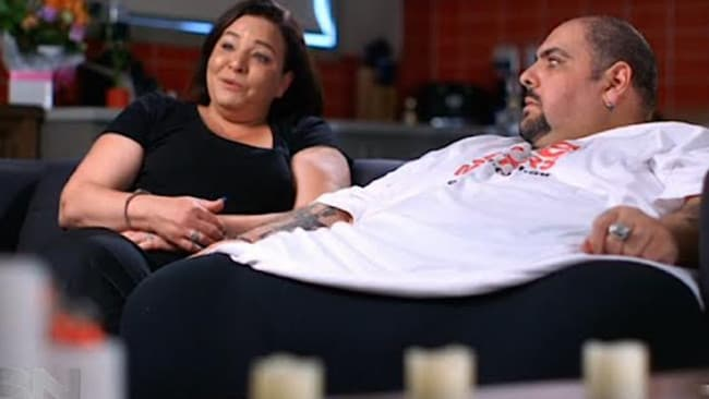 At a cost ... Andre Nasr, right, and his wife, Natasha, have had to cut family members out of their lives. Picture: Sunday Night