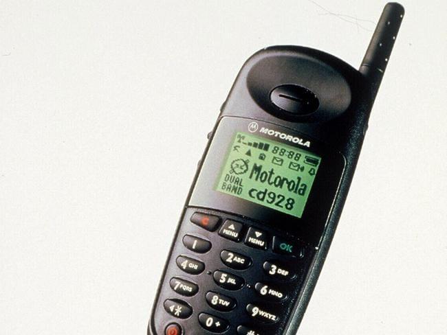 Niche market ... old-school Motorola phones are also proving popular.
